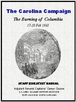 Home carolina campaign 1 january 26 april 1865 libguides at the carolina campaign the burning of columbia 1 jan 20 feb 1865 2nd edition by bower stephen e fandeluxe Gallery
